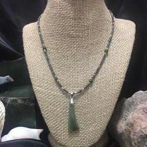 Jewelry - Apple Jade Necklace